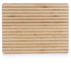 Banquet Brillante Bamboo lesena deska za rezanje, 33 × 25 × 1,5 cm, tanke črte