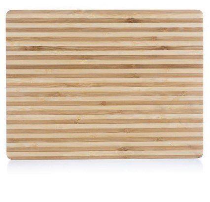 Banquet Brillante Bamboo drvena daska za rezanje, 33 × 25 × 1,5 cm, tanke crte