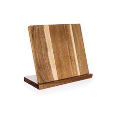 Banquet Acacia magnetna deska za nože, 26 x 23 cm