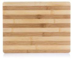 Banquet BRILLANTE Bamboo fa vágódeszka, 33x25x2 cm, széles csíkok