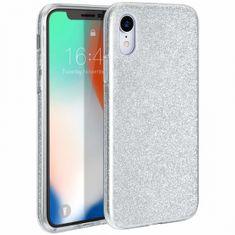 Bling ovitek za Apple iPhone 11 Pro, silikonski, srebrn z bleščicami