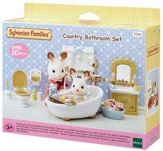 Sylvanian Families wiejska łazienka
