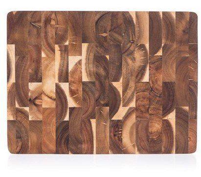 Banquet drewniana deska do krojenia BRILLANTE Acacia 40x30x3,3 cm