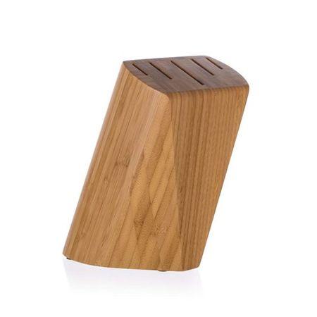 Banquet BRILLANTE Bamboo faállvány 5 késre, 22 x 13,5 x 7 cm