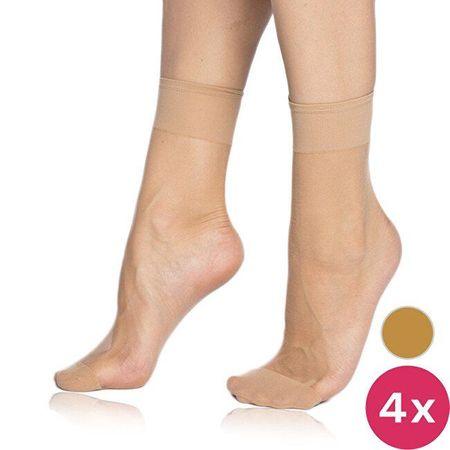 Bellinda Női zokni csomag 4 db légy Socks 15 Den BE202025-230-U