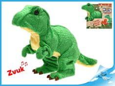 Mikro Trading Tyranosaurus Rex plyšový 18cm na baterie se zvukem chodící 12m+