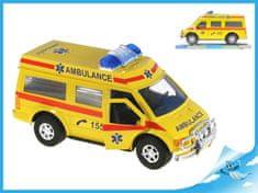 Mikro Trading Auto ambulance 27cm na setrvačník