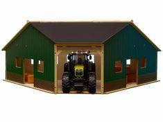 GLOBE Garáž/farma dřevěná 34,5x100,3x38cm