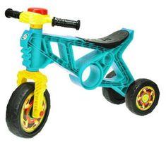Mikro Trading Odrážedlo motorka s klaksonem tyrkysová