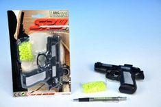 Mikro Trading Pistole na kuličky 15cm s kuličkami