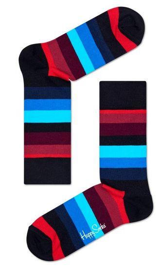 Happy Socks unisex ponožky Stripe Sock SA01-068 36 - 40 vícebarevná