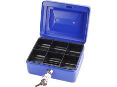 Extol Craft Schránka na peníze přenosná s pořadačem, 152x118x80mm, 2 klíče