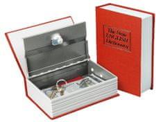 Extol Craft Schránka bezpečnostní - knížka, 180×115×54mm, 2 klíče