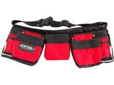 Extol Premium Pás na nářadí, 7 kapes (2 velké, 3 střední, 2 malé), nylo