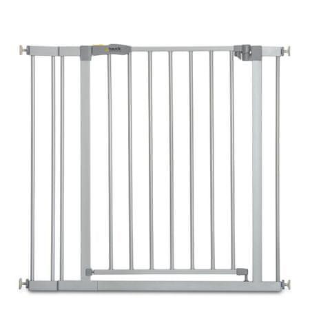 Hauck varnostna ograja Stop N Safe 2020 + 9 cm podaljška, silver, srebrna
