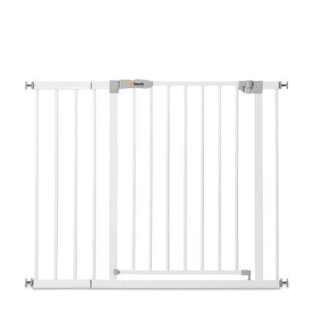 Hauck sigurnosna ograda Stop N Safe 2020 + 21 cm produžetka, white, bijela