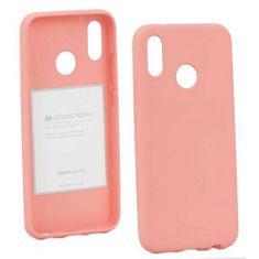 Goospery Soft Feeling ovitek za Huawei P20 Lite, silikonski, roza