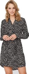 Vero Moda Ženska obleka VMSINE L / S SHORT DRESS WVN BF Black Lydia
