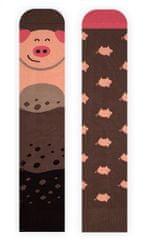 Nanushki Piggy nogavice