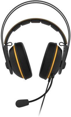 Asus TUF Gaming H7 Core, przewodowe słuchawki, regulacja głośności, dwa mikrofony
