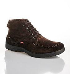Levi's Pánská módní kožená kotníková obuv