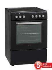 VOX electronics CHT 6008 BL steklokeramični štedilnik