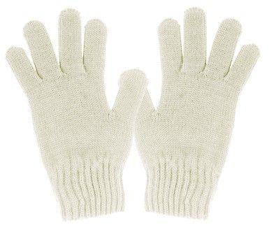 Maximo dekliške rokavice, 2, bela