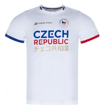 ALPINE PRO dětské tričko Chiyo 92 - 98 bílá