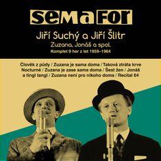SEMAFOR: Komplet 9 her z let 1959-1964 (15x CD) - CD