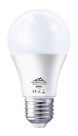 ETA žarnica, LED, 10 W, E27, toplo bela