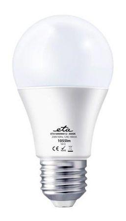ETA žarnica, LED, 12 W, E27, toplo bela
