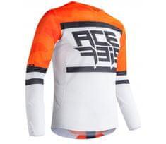 Acerbis Helios Vented dres orange/white