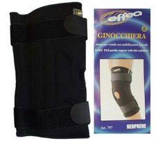 EFFEA Bandáž koleno - neopren 799 černá S