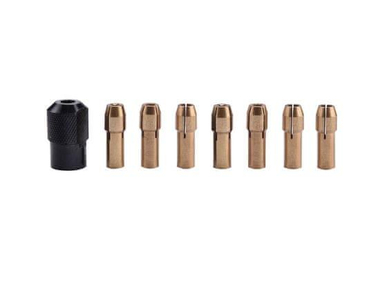 Extol Craft Kleštiny, sada 8ks, Ř1-1,6-2-2,3-3-2x3,2mm, hlavice M8x0,75