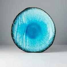 MIJ Mělký talíř Sky Blue 27 cm