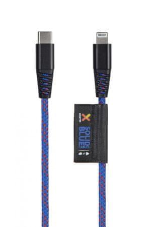 Xtorm Solid USB-C – Lightning kabel 1 m, moder (CS032)