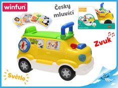 Mikro Trading Auto edukační/odrážedlo česky mluvící na baterie se světlem a zvukem