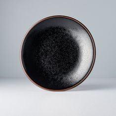 MIJ Okrúhly plytký tanier Tenmokku 25 cm