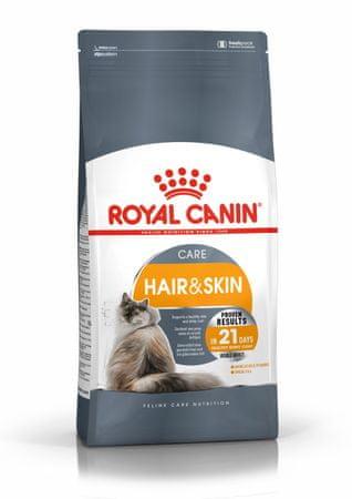 Royal Canin karma sucha dla kotów Hair & Skin Care 10 kg