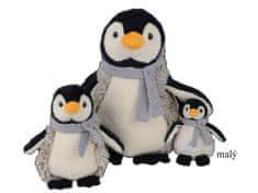 Bukowski BK JULIUS tučňák se šálou malý (15 cm)