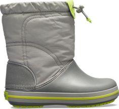Crocs Detské topánky Crocs Crocband LodgePoint Boot K fialová