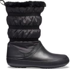 Crocs Dámske zimné topánky Crocs Crocband Winter Boot šedá