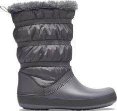 Crocs Dámské zimní boty Crocs CROCBAND Winter Boot černá