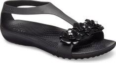 Crocs Dámske sandále Crocs SERENA EMBELLISH čierna