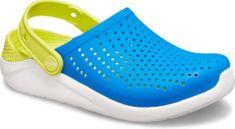 Crocs Dětské boty Crocs LiteRide Clog růžová/bílá