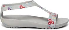 Crocs Dámske sandále Crocs SERENA GRAPHIC šedá