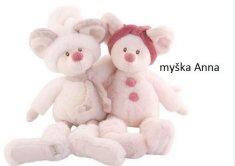 Bukowski BK ANNA myška růžová (25cm)