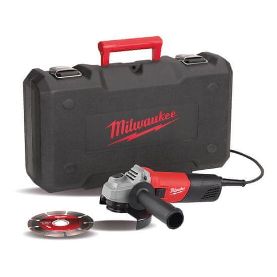 Milwaukee AG 800-115ED-SET 800 W uhlová brúska