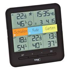 TFA 30.3060.01 KLIMA @ HOME Funk vezeték nélküli hőmérő higrométerrel