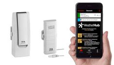 TFA 31.4002.02 WeatherHub SET2 Bezdrôtový Monitor Klímy